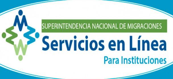 Servicios en Línea – Instituciones