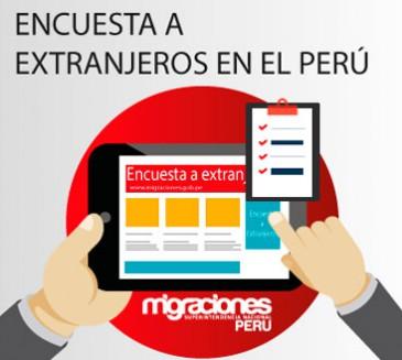 Encuesta a extranjeros en el Perú