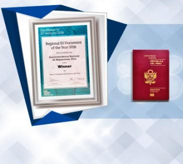 Pasaporte electrónico peruano elegido como el mejor documento de identidad
