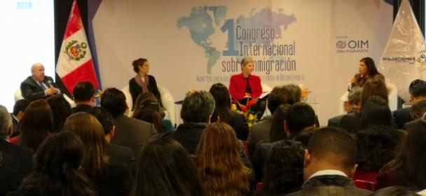 Primer Congreso Internacional sobre Inmigración: Problemática migratoria venezolana debe abordarse de manera regional
