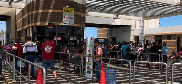 MIGRACIONES interviene a menores de edad cruzando frontera a Chile suplantando identidad
