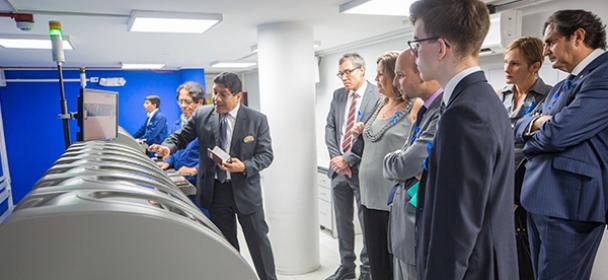 Representantes consulares de la Unión Europea visitaron MIGRACIONES