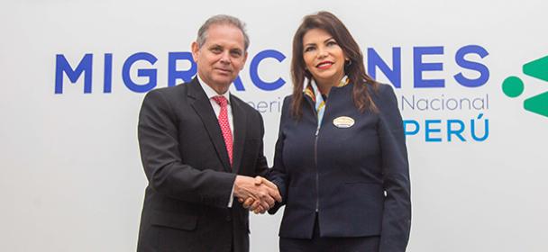MIGRACIONES y Ministerio de Trabajo firman convenio para interoperar información de trabajadores extranjeros
